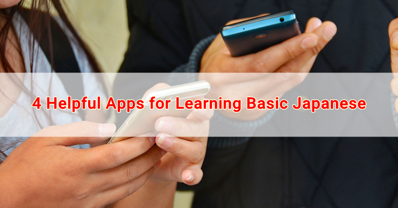 4 Helpful Apps for Learning Basic Japanese | Japan OFW